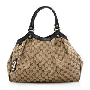 Authentic Gucci Sukey Tote